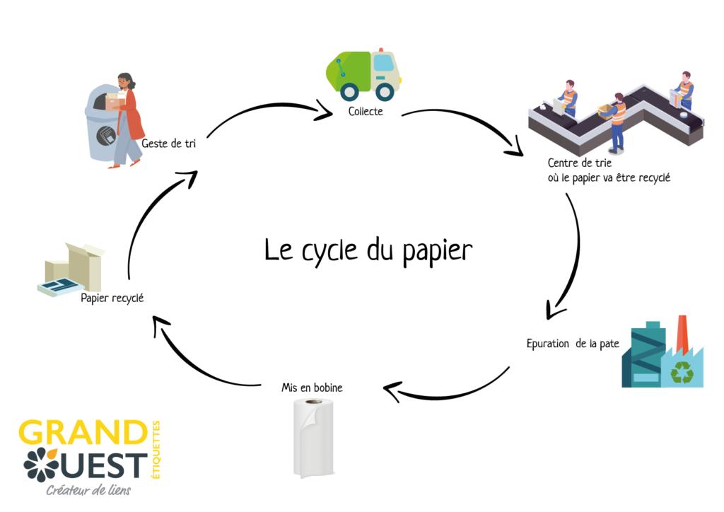 cycle du papier